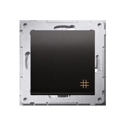 Simon 54 Premium Antracit Vypínač křížový (modul) rychlospojka, DW7.01/48