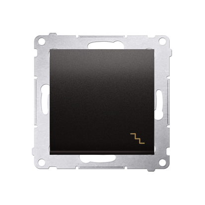Simon 54 Premium Antracit Vypínač schodišťový (modul) X šroubové koncovky, DW6A.01/48