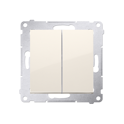 Simon 54 Premium Krémová Přepínač sériový pro verzi IP44 DW5B.01/41