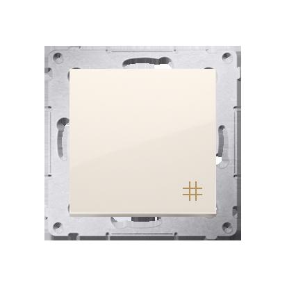 Simon 54 Premium Krémová Vypínač křížový (modul) rychlospojka, DW7.01/41