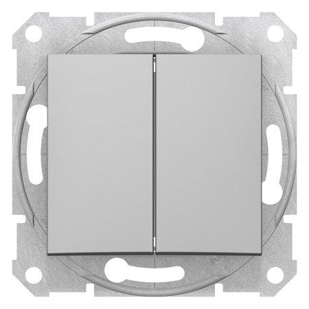 Spínač sériový hliník Sedna SDN0300160 Schneider Electric