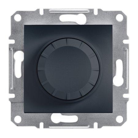 Stmívač RL (schodišťový vypínač) bez rámečku, antracit Schneider Electric Asfora EPH6400171