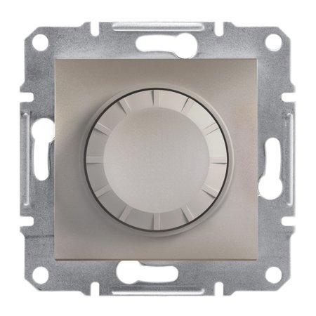 Stmívač RL (schodišťový vypínač) bez rámečku, hnědá Schneider Electric Asfora EPH6400169