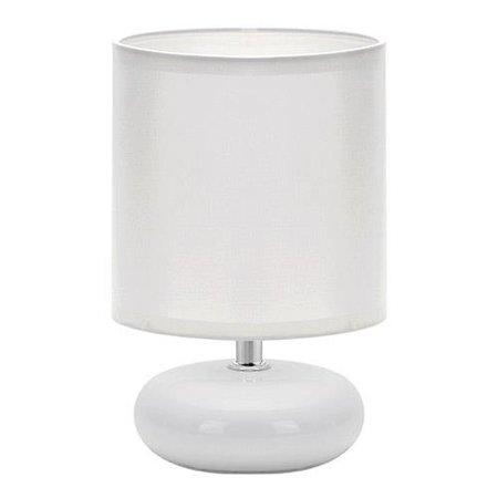 Stopní keramická lampa PATI WHITE, E14 bílá, 3143 Struhm