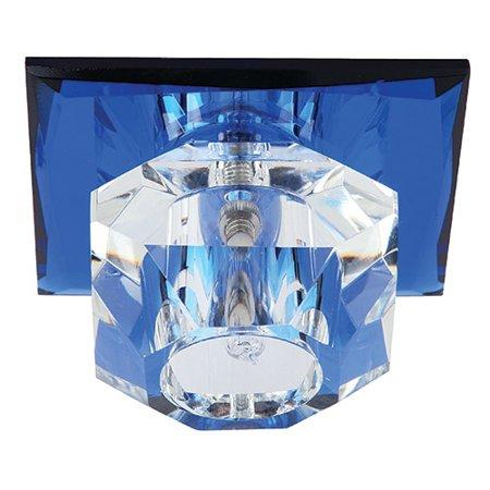 Stropní bodové svítidlo modré max 20W HL800 01335 Horoz