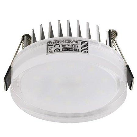 Stropní dekorativní svítidlo VALERIA-7 LED, 7W, 4000K, průhledné, 3159, Horoz