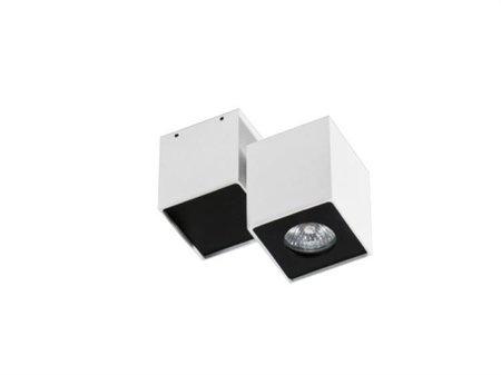 Stropní nástěnné svítidlo Flavio 1 bílá černá Azzardo GM4102
