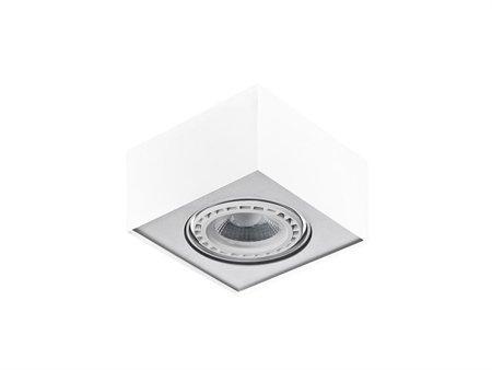 Stropní nástěnné svítidlo Paulo 1 12V bílá hliník Azzardo GM4107
