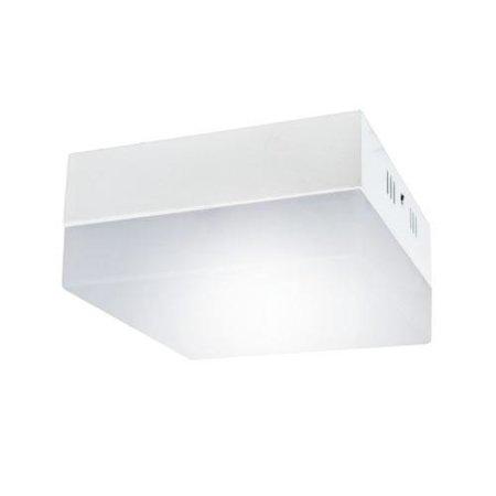 Stropnice LED hranatá, nástěnná 6W 4000K Robin D, Struhm