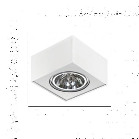 Svítidlo stropní Paulo 1 230V LED 15W stmívatelné bílá Azzardo GM4107