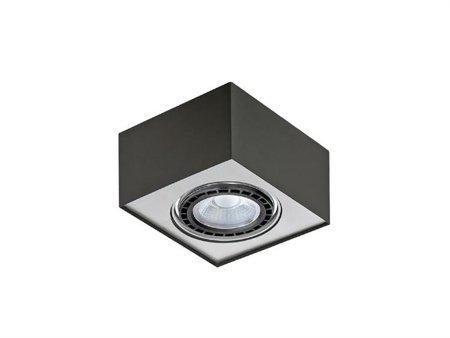 Svítidlo stropní Paulo 1 230V LED 7W černá hliník Azzardo GM4107