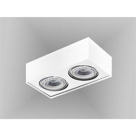 Svítidlo stropní Paulo 2 230V LED 15W stmívatelné bílá Azzardo GM4203