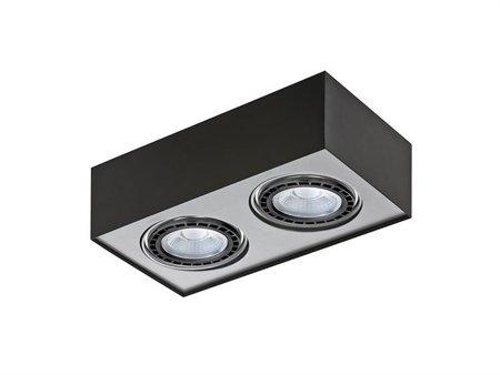 Svítidlo stropní Paulo 2 230V LED 16W černá hliník Azzardo GM4203