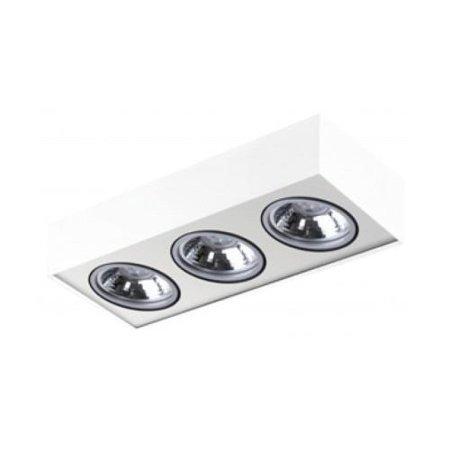 Svítidlo stropní Paulo 3 230V LED 7W stmívatelné bílá Azzardo GM4301