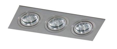 Svítidlo stropní podomítkové Carlo 3 hliník Azzardo SN-6813S-ALU