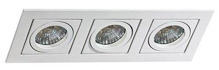 Svítidlo stropní podomítkové Paco 3 bílá Azzardo GM2301