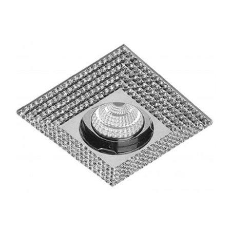 Svítidlo stropní podomítkové Piramide XL chrom Azzardo NC1673SQ-CH