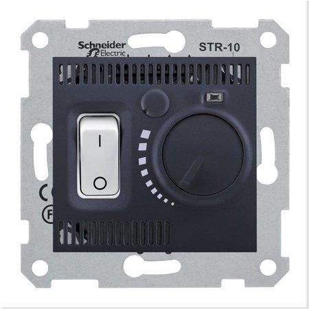Teplotní regulátor, grafitová Sedna SDN6000170 Schneider Electric