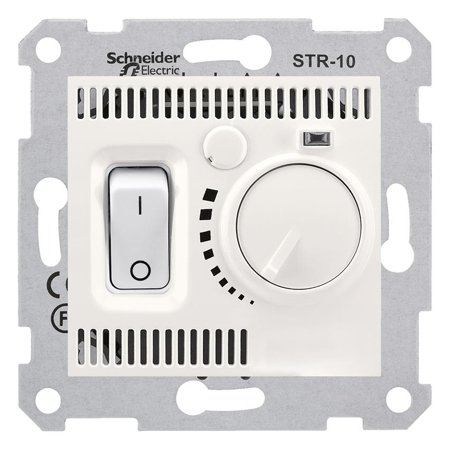 Teplotní regulátor krémová Sedna SDN6000123 Schneider Electric