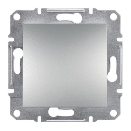 Tlačítko 1-pólový bez rámečku, hliník Schneider Electric Asfora EPH0700161