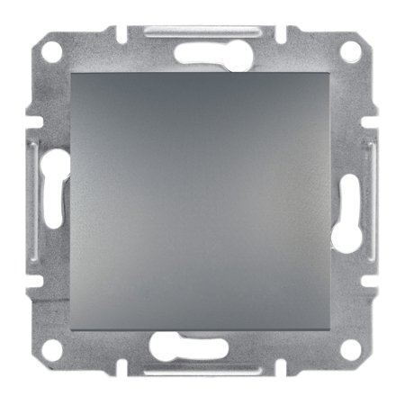 Tlačítko 1-pólový bez rámečku, ocel Schneider Electric Asfora EPH0700162