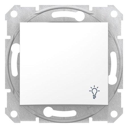 "Tlačítko ""světlo"" bílá Sedna SDN0900121 Schneider Electric"