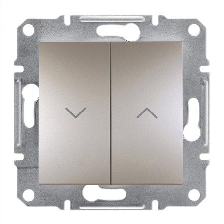 Tlačítko žaluziové bez rámečku, hnědá Schneider Electric Asfora EPH1300169