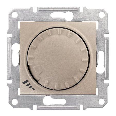 Tlačítkový - otočný stmívač RL/RC, SATYN Sedna SDN2201168 Schneider Electric