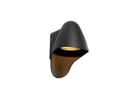Venkovní lampa nástěnná Nástěnné svítidlo Matera grafit Azzardo MAX—1381