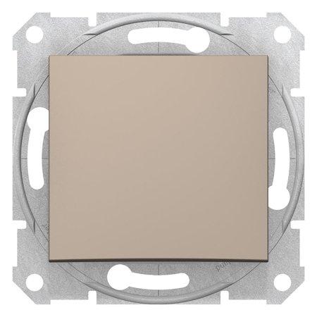 Vypínač 1-pólový saténová Sedna SDN0100168 Schneider Electric