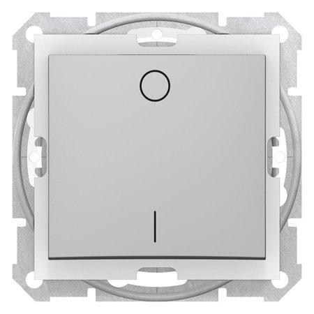 Vypínač 2-pólový IP44 hliník Sedna SDN0200360 Schneider Electric