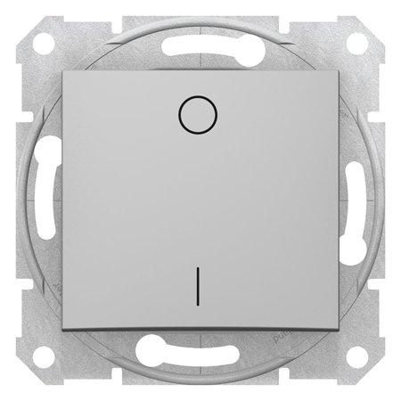 Vypínač 2-pólový hliník Sedna SDN0200160 Schneider Electric
