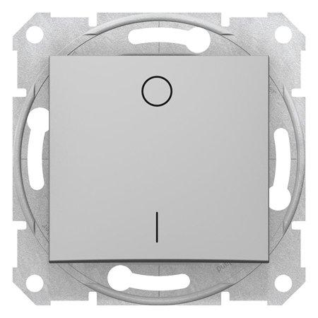 Vypínač 2-pólový hliník Sedna SDN0200260 Schneider Electric