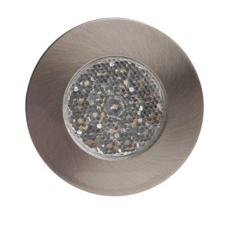 Zapuštěné svítidlo LED SINGLE CIRCLE MATNÝ CHROM Kobi