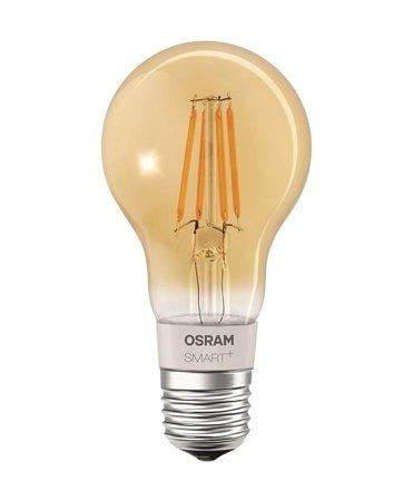 Žárovka vlákno LED stmívatelná GOLD 5,5W E27 SMART+ Filament Classic Dimmable Bluetooth OSRAM