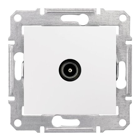 Zásuvka TV průchozí 4dB bílá Sedna SDN3201821 Schneider Electric