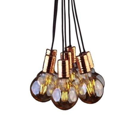 Závěsná lampa Cable Black/Copper 7x E27 Nowodvorski 9746