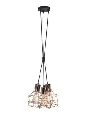 Závěsná lampa Carron 3 měď Azzardo MD50148-3