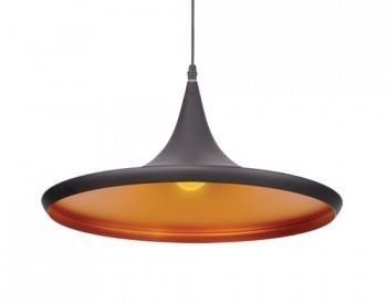 Závěsná lampa Chink černá zlatá Azzardo LP6002-L BK/ GO