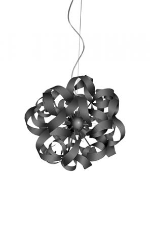 Závěsná lampa Delta Oxide černá Azzardo MD05010015-9C