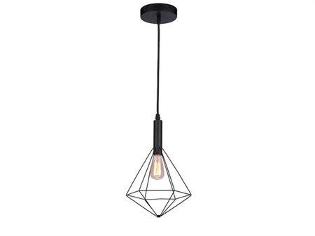 Závěsná lampa Diamond černá Azzardo MD5039-1B