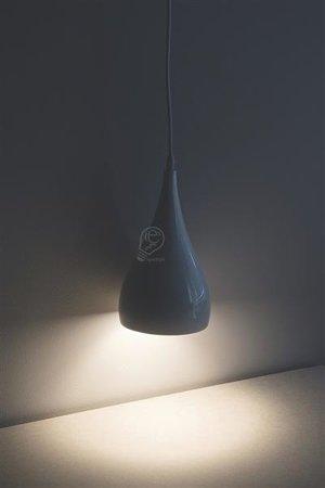 Závěsná lampa JUSTA WHITE, 1 x E27, bílá, 3265, Struhm