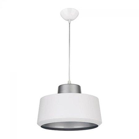 Závěsná lampa PAULA WHITE/SILVER, 1 x E27, 3269, Struhm